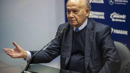 """Guillermo """"Billy"""" Álvarez, expresidente del Cruz Azul."""