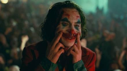 Joker sonriendo