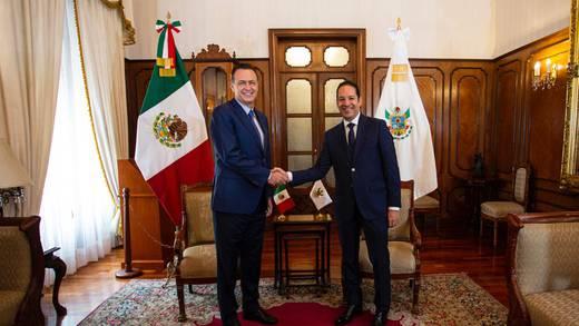 Elección Querétaro 2021: Mauricio Kuri se reúne con Francisco Domínguez