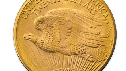 Una moneda de oro 'Double Eagle' fue subastada en casi 4 millones de pesos
