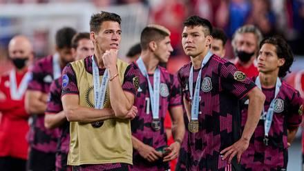Selección Mexicana tras perder ante EU