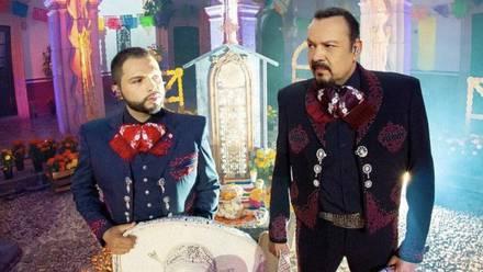 Leonardo y Pepe Aguilar