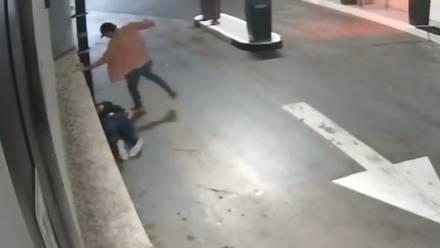 Agresión contra Luis Miranda