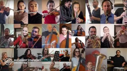 La Orquesta Sinfónica de Bucarest