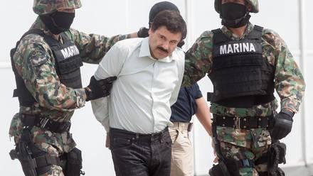 El Chapo Guzmán.