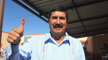 Javier Corral, actual gobernador de Chihuahua