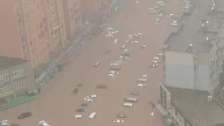 Inundaciones en China han dejado al menos 12 muertos