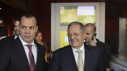 Olegario Vázquez Aldir y Olegario Vázquez Raña
