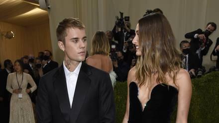 Justin Bieber y Hailey Bieber en el Met Gala