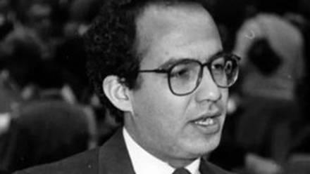 Felipe Calderón durante su juventud