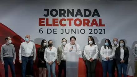 Conferencia de prensa de Morena