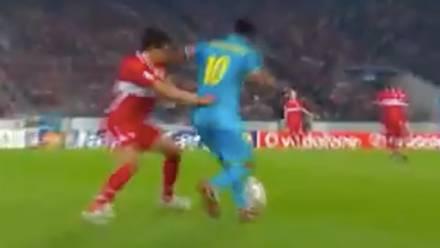 Ronaldinho y Osorio