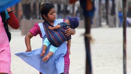 En Guerrero las niñas son obligadas a casarse desde muy pequeñas, como fue el caso de la niña Angélica