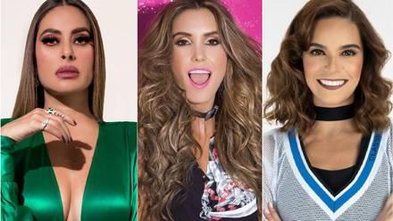 Galilea Montijo, Andrea Escalona, Tania Rincón.