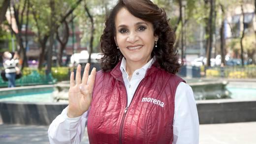 """Dolores Padierna llama """"títere"""" a Sandra Cuevas por triunfo en alcaldía Cuauhtémoc"""