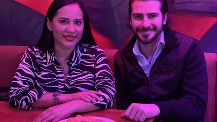 Sandra Cuevas se reúne con Nacho Peregrín