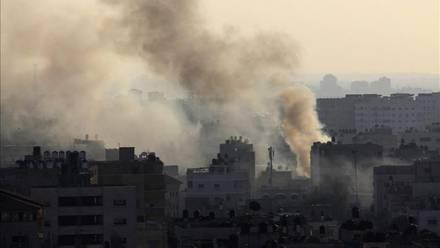 Israel bombardeó la Franja de Gaza/EFE