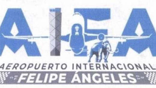 Lo feo no es el logotipo del AIFA, sino lo que hay detrás