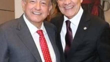 Cristobal Arias y AMLO