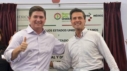 Rodrigo Medina y Enrique Peña Nieto. Protección.