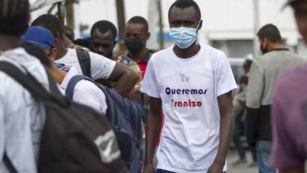 Haitianos en Monterrey