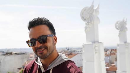 El cantante puertorriqueño Luis Fonsi, durante su entrevista con Efe. EFE / J.P.Gandul