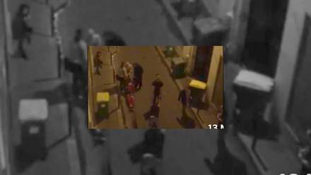 El atentado fue capturado por la cámara de video de un periodista que se encontraba en las inmediaciones del lugar.