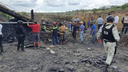 Se localizaron los cuerpos de 3 mineros en Múzquiz