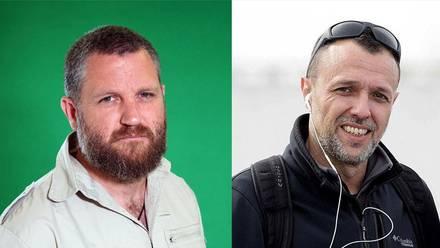 David Beriáin y Roberto Fraile, periodistas asesinados en Burkina Faso, África.