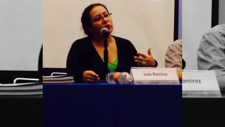 Jade Ramírez Cuevas Villanueva, periodista.
