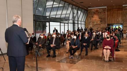 Reunión con el presidente de Cuba, Miguel Díaz-Canel