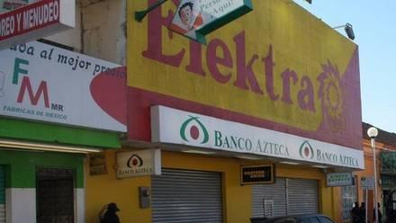 Grupo Elektra. Quiebra de cliente de Banco Azteca.