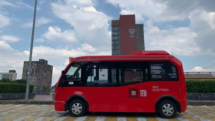 'Metrobús bebé' da sus primeros pasos