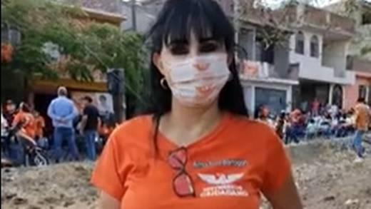 Elección Guanajuato 2021: Video muestra el asesinato de Alma Rosa Barragán