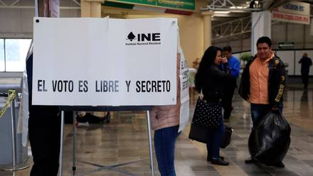 Votaciones en Puebla