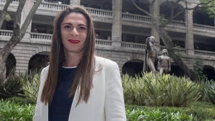 Ana Gabriela Guevara, titular de la Conade