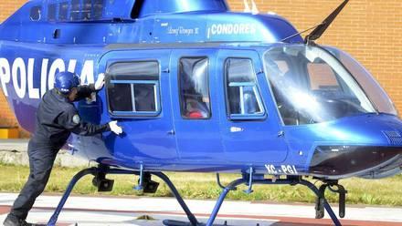 Uno ded los helicòpteros a sustituir. Foto: Armando Monroy/Cuartoscuro