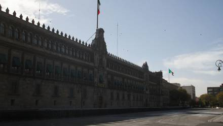 Palacio Nacional del gobierno de México