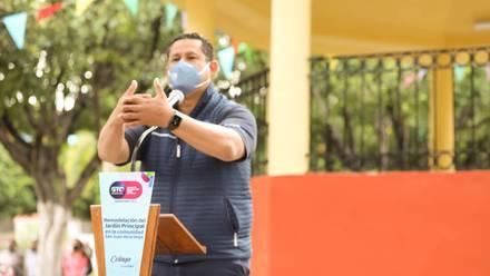 Guanajuato: Diego Sinhue Rodríguez entrega obras en Celaya
