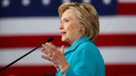 Hillary Clinton. Localización de artefacto explosivo.