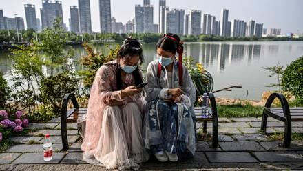Mujeres en Wuhan
