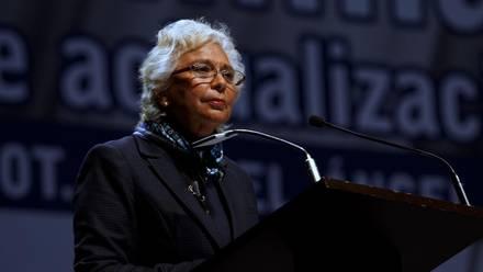 Olga Sánchez Cordero. Viaje a Washington