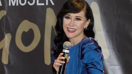La actriz y cantante Susana Zabaleta