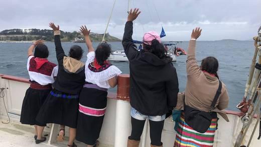 El 'Escuadrón 421' del EZLN arriba a España