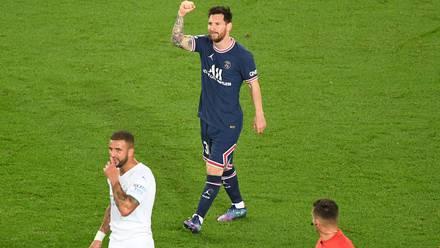 Messi marcó su primer gol con el PSG