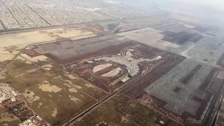 Acarrea Sedena material de construcción del NAICM a nuevo aeropuerto de Santa Lucía