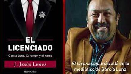 """Escritor michoacano que presentó su más reciente libro:  """"El Licenciado"""", en el que narra con detalles como Genaro García Luna, SSP (Secretario de Seguridad Pública), durante el sexenio de Felipe Calderón Hinojosa, (2006-2012), se involucró con el Cártel de Sinaloa."""