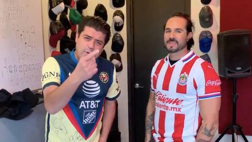 Chivas vs Club América: Jorge El Burro Van Rankin apuesta con José Ron