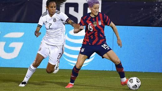 Selección femenina de futbol de México pierde ante la Selección femenina de futbol de Estados Unidos