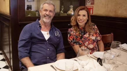 Marina del Pilar Ávila se reúne con Mel Gibson